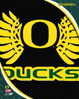 University of Oregon Ducks Team Logo Fine-Art Print