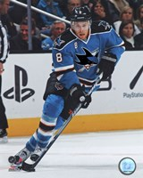Joe Pavelski 2011-12 Action Fine-Art Print