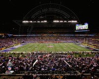 Lucas Oil Stadium Super Bowl XLVI Fine-Art Print