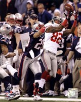 Mario Manningham Catch Super Bowl XLVI Fine-Art Print
