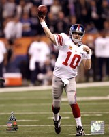 Eli Manning Super Bowl XLVI Action Fine-Art Print