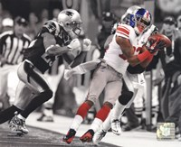 Mario Manningham Catch Spotlight Super Bowl XLVI Fine-Art Print