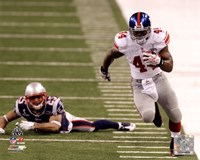 Ahmad Bradshaw Super Bowl XLVI Running Action Fine-Art Print