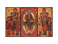 Altar frontal from La Seu d'Urgell or of the Apostles Fine-Art Print