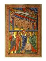 An Angel Warning the Sleeping Three Magi Not to Return to Herod Fine-Art Print
