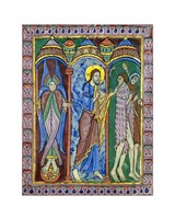 Albans Psalter: Expulsion from Paradise Fine-Art Print