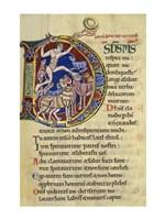 Psalm 136, Initial D In Albani Psalter Fine-Art Print