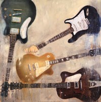 Guitars II Fine-Art Print