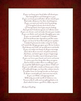 If - Red Border Fine-Art Print