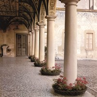 Villa Portico No. 1 Fine-Art Print