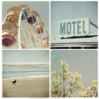 Summer Memories 1, Motel Fine-Art Print