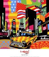 New York Taxi II Fine-Art Print