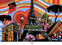 Paris l'amour Fine-Art Print
