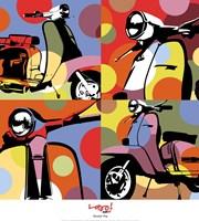 Scooter Pop Fine-Art Print