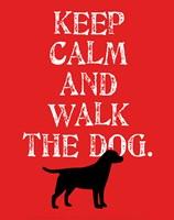Keep Calm (Labrador) Fine-Art Print