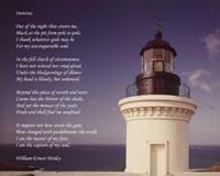 Invictus Poem (lighthouse) Fine-Art Print