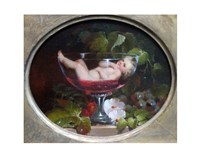 Cupid in a Wine Glass Fine-Art Print