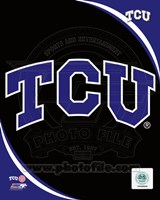 Texas Christian University Horned Frogs Team Logo Fine-Art Print