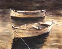 Sienna Boats Fine-Art Print