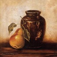 Crock with Pears Fine-Art Print