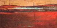 Red Horizon I Fine-Art Print