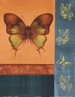 Colorful Wings I Fine-Art Print