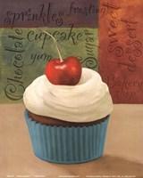 Cherry Cupcakes I Fine-Art Print