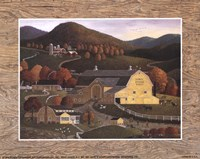 Early Sunrise Farm Fine-Art Print