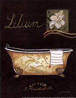 Lilium Bath - mini Fine-Art Print