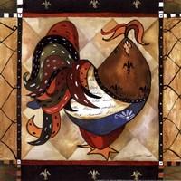 Tuscan Rooster Sq I Fine-Art Print