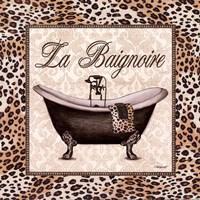 Leopard Bathtub Fine-Art Print