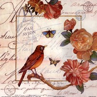 Jardin Des Papillons I Fine-Art Print