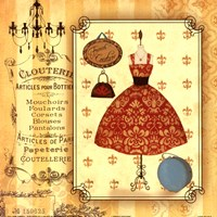 French Couture Fine-Art Print