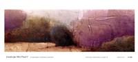 Landscape Mist Panel I Fine-Art Print