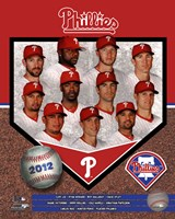 Philadelphia Phillies 2012 Team Composite Fine-Art Print