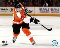 Danny Briere 2011-12 Action Fine-Art Print