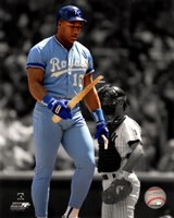 Bo Jackson Spotlight Action Fine-Art Print