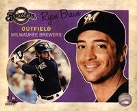 Ryan Braun 2012 Studio Plus Fine-Art Print