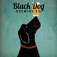 Black Dog Brewing Co Square Fine-Art Print