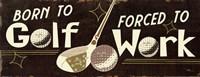 Funny Golf III Fine-Art Print