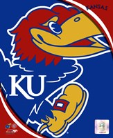 University of Kansas Jayhawks Team Logo Fine-Art Print