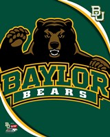 Baylor University Bears 2012 Logo Fine-Art Print