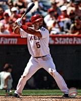 Albert Pujols 2012 batting Fine-Art Print