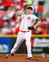 Mat Latos 2012 Action Fine-Art Print
