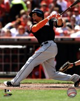 Giancarlo Stanton 2012 batting Fine-Art Print