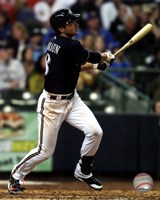 Ryan Braun 2012 Action Fine-Art Print
