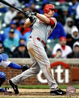 Jay Bruce 2012 Action Fine-Art Print