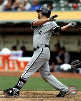 Paul Konerko 2012 Action Fine-Art Print