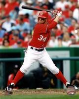 Bryce Harper 2012 batting Fine-Art Print