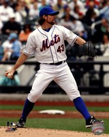 R.A. Dickey 2012 Action Fine-Art Print